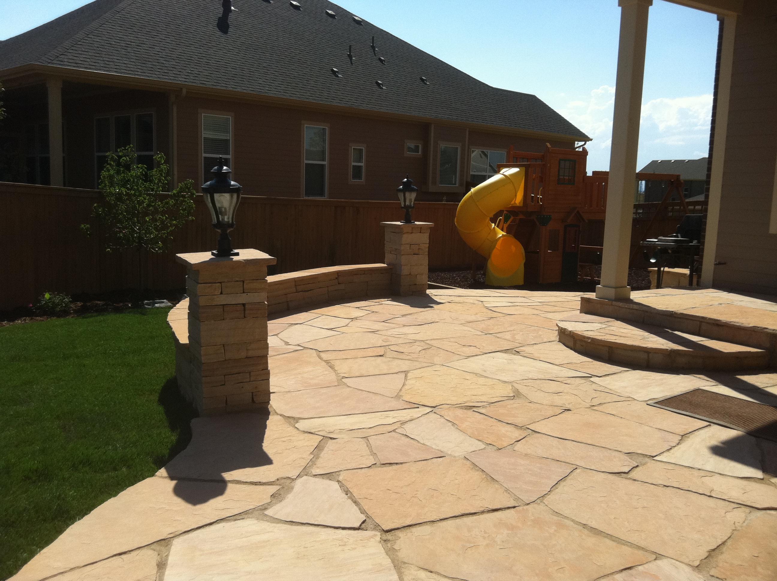 flagstone patios walkways in denver co